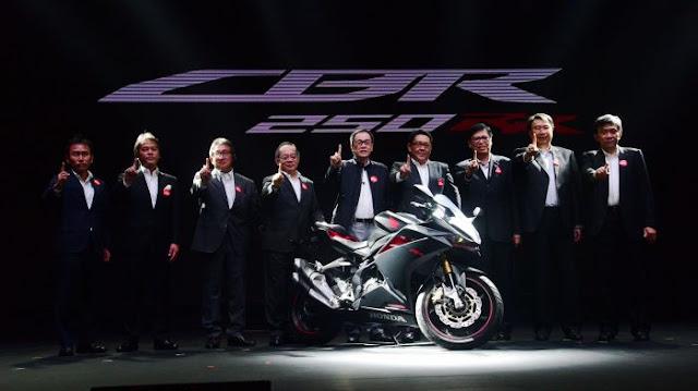 Honda CBR 250 RR Resmi di launching