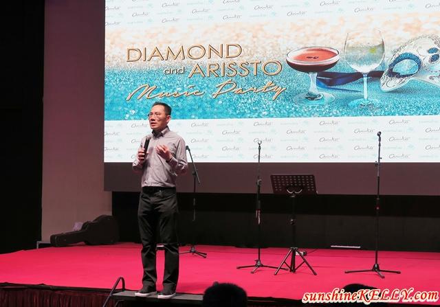 Diamond and Arissto Music Party