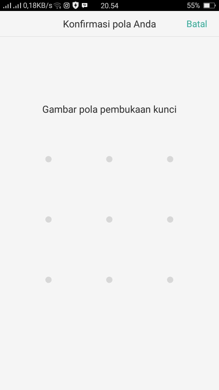Cara Membuka Kunci Pola Oppo A37f Phone Tekno