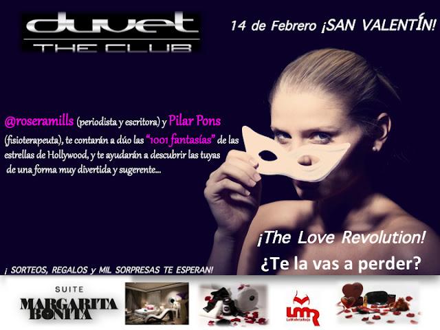 14-1-2013 | Evento especial SAN VALENTÍN en la sala Duvet de Barcelona
