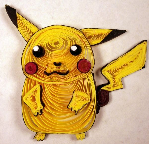 Craft Art Ideas Paper Quilling Cartoon Characters