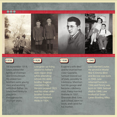 Heritage Scrapbook about Grandfather
