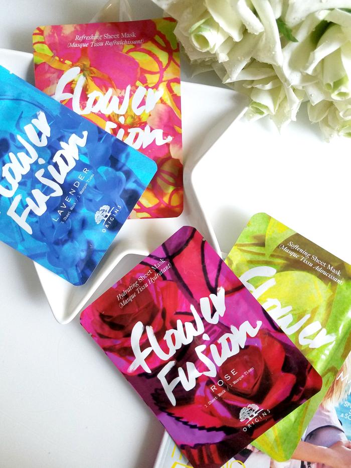 Review: ORIGINS - Flower Fusion Sheet Masks - Madame Keke Luxury Beauty Lifestyle Blog 1