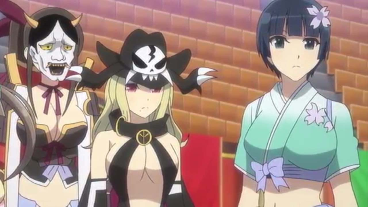Senran Kagura Season 2 Episode 7 Subtitle Indonesia