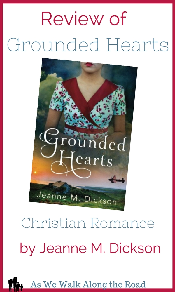 Review of Grounded Hearts, Christian Romance by Jeanne M. Dickson