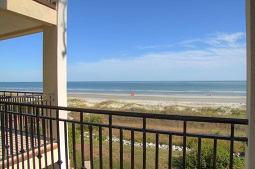Seaclusion Beach House Balcony View Hilton Head South Carolina Vacation Home Rental
