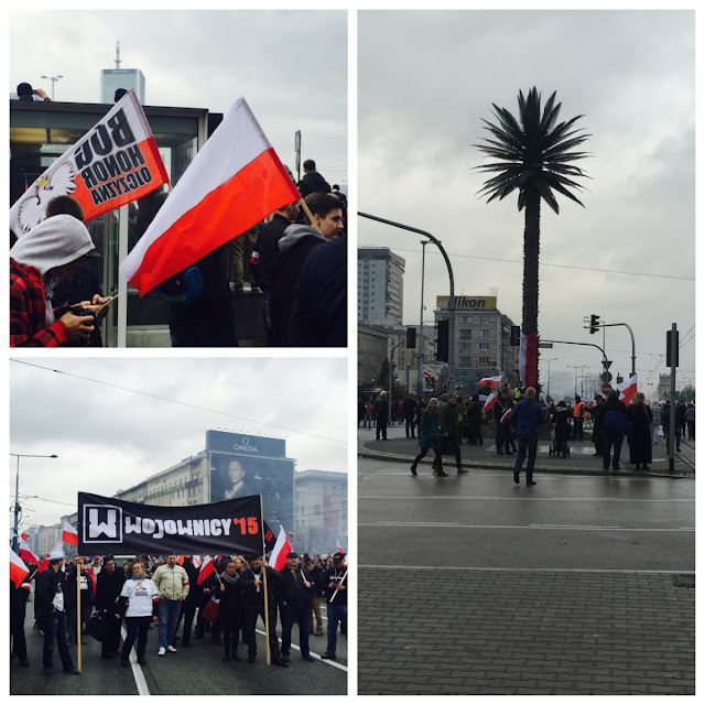 Poland, Warsaw, Independence march
