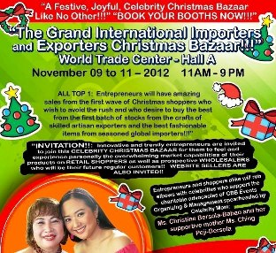 Caritas Manila to hold Celebrity Bazaar on Oct. 18 ...