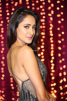 Pragya Jaiswal in a lovely Sleevelss Backless Dress at Zee Telugu Apsara Awards 2017 14.JPG