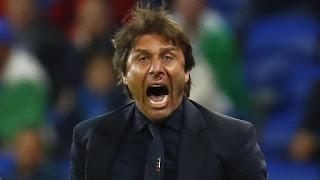 Conte yang Sampai Berdarah Rayakan Gol Giaccherini