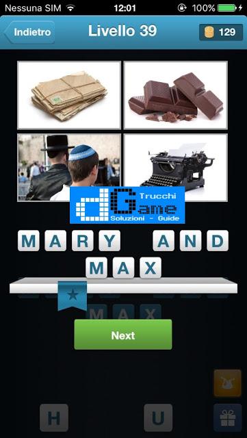 Movie Quiz (Indovinare il film) soluzione livello 31-40