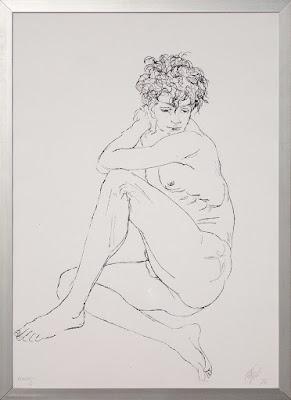 Corrado Cagli - litografia del 1974 - ARTE