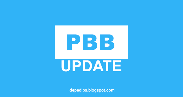 PBB UPDATE: Letter from the DBM on the Release of the 2016 PBB