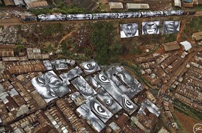 Super arte urbano en Israel y Palestina.