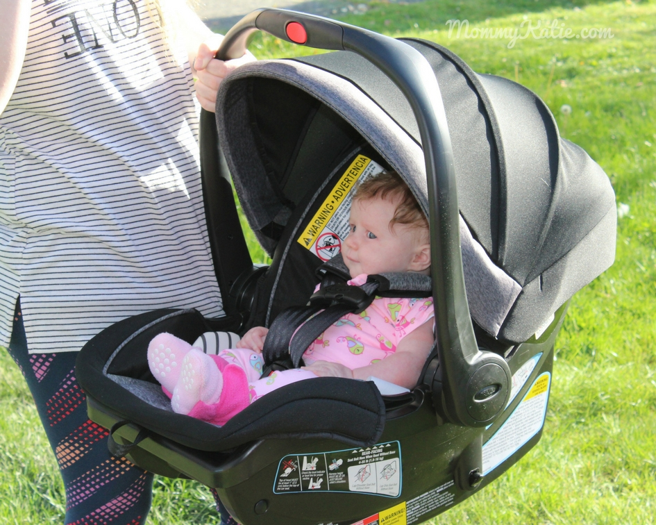8545ee6c1a0 We were sent the Graco SnugRide® SnugLock™ 35 DLX Infant Car Seat. Graco is  a brand we have trusted and used for many years with our kiddos and with  that ...