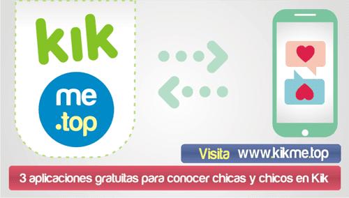 3 aplicaciones gratuitas para conocer chicas y chicos en Kik