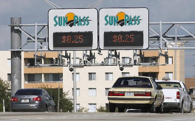 Vias expressas em Miami nos Estados Unidos