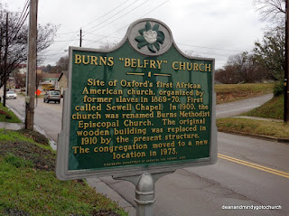 historical church sign