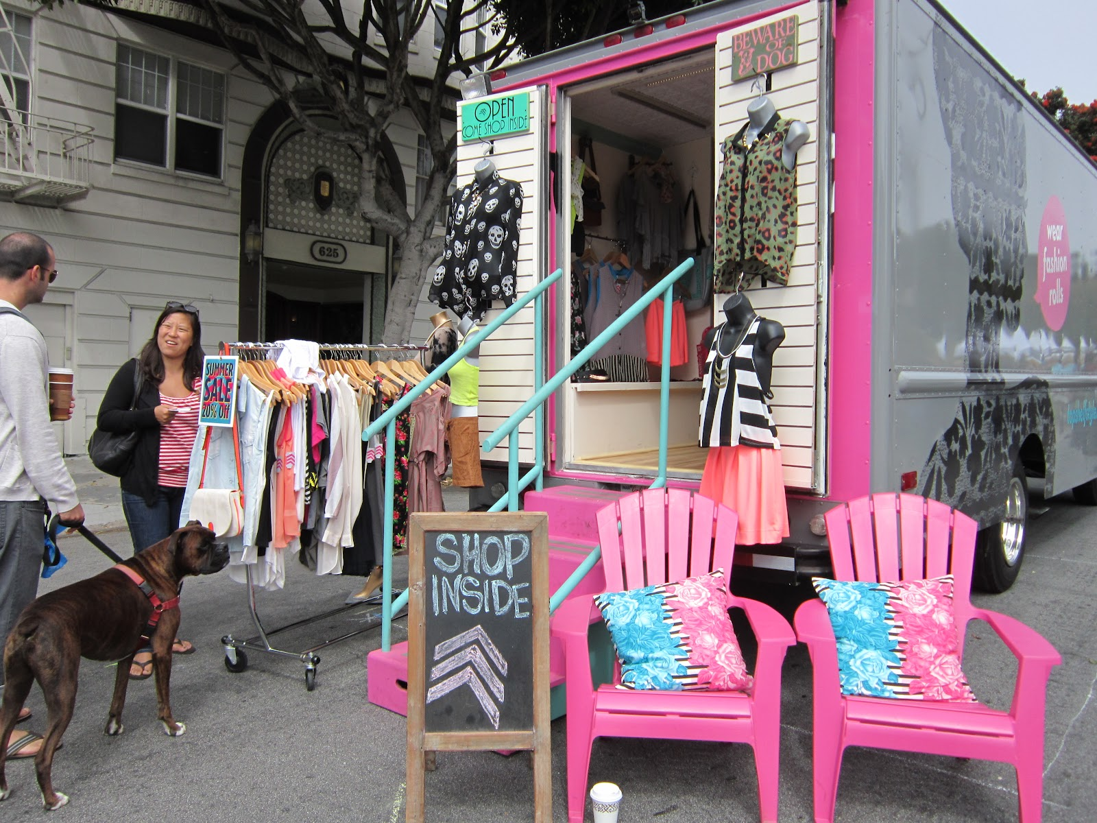 Toni S Vintage Trips Alamo Square Flea Market In San