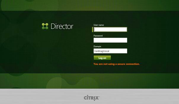 How to Install and use the Citrix Director