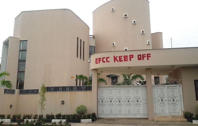 Dikko's mansion located at 1 Audu Ogbeh Street, Jabi, Abuja