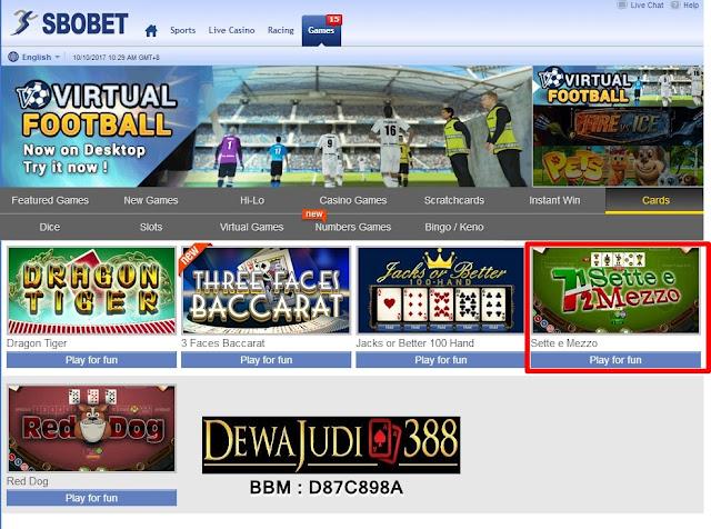 Dewajudi388 Agen Resmi Sbobet Terbaik No1 di Indonesia
