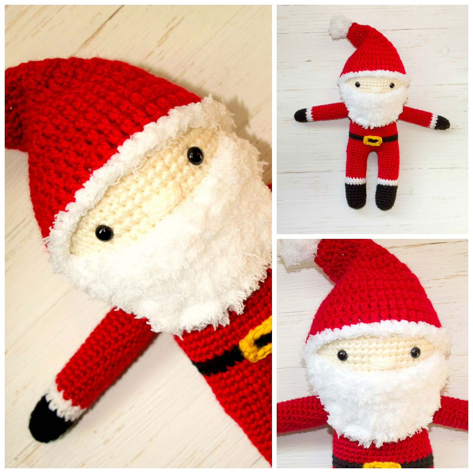 Free crochet santa pattern the friendly red fox read through the entire pattern and the amigurumi tips and tricks before you begin bankloansurffo Image collections