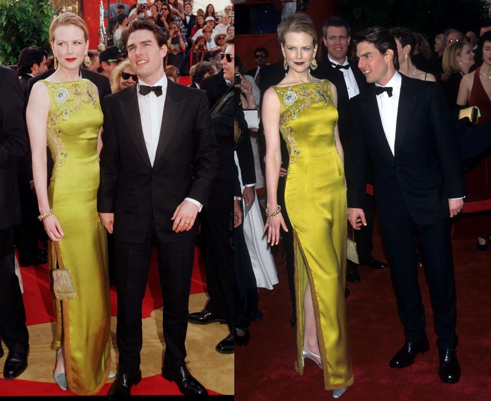 Nicole Kidman veste Dior no Oscar de 1997 - (Foto  Reprodução) 9e1eaf3282a