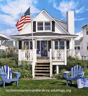 Casa tradicional propia del Sueño Americano
