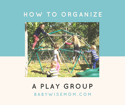 How to Organize a Playgroup