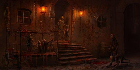 Yuri Hill artstation arte ilustrações sombrias terror fantasia ficção científica cthulhu lovecraft