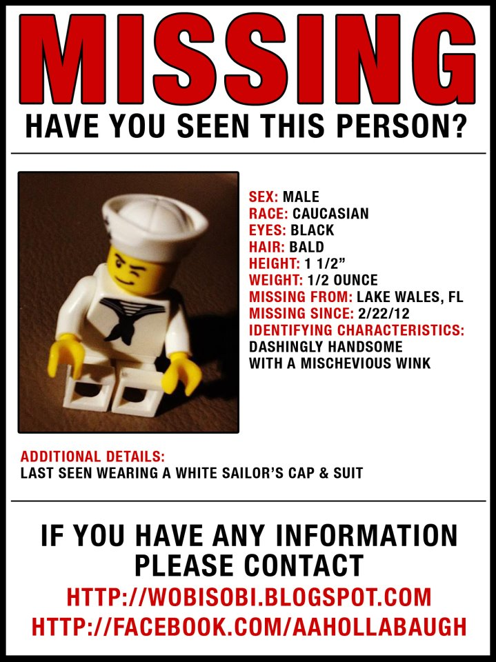 Funny Missing Person Template Printable No Littering Sign
