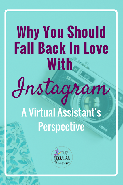 A virtual assistant's perspective on why you should fall back in love with Instagram