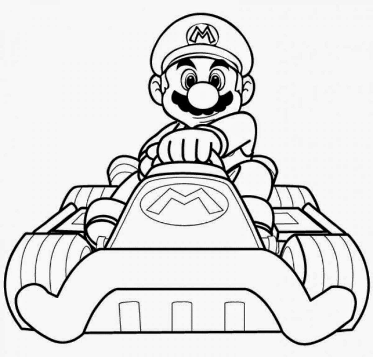 coloring pages mario color page mycoloring free printable