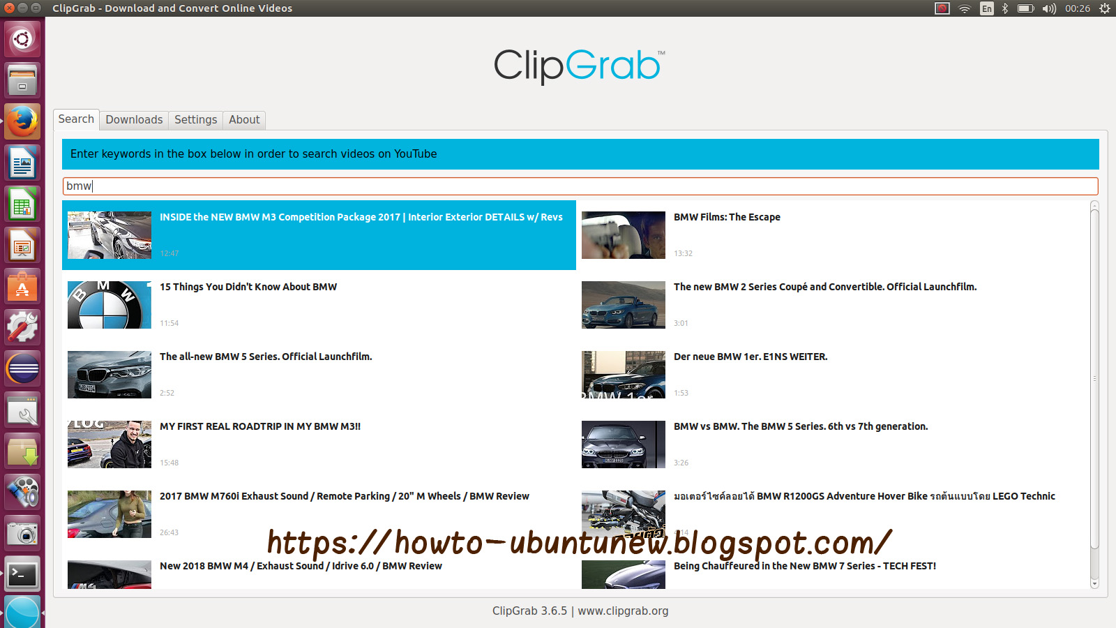 How to install program on Ubuntu: How to Install ClipGrab 3 6 5 on