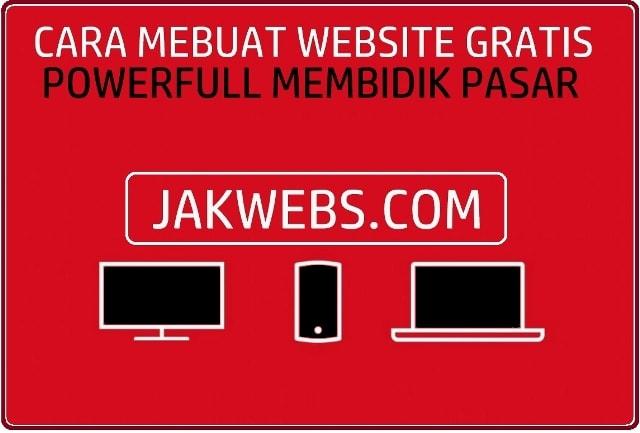CARA MEMBUAT WEBSITE GRATIS BAGI PEMULA, MEMBUAT WEBSITE GRATIS, TUTORIAL MEMBUAT WEBSITE GRATIS