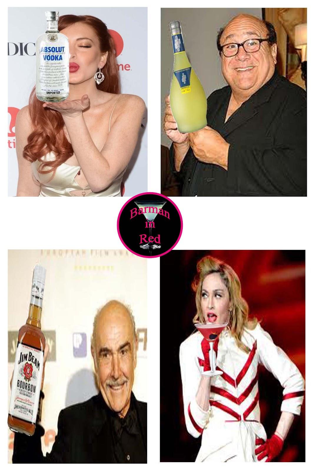 que beben los famosos