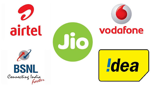 Prepaid & Postpaid 4G Data Plans - Jio