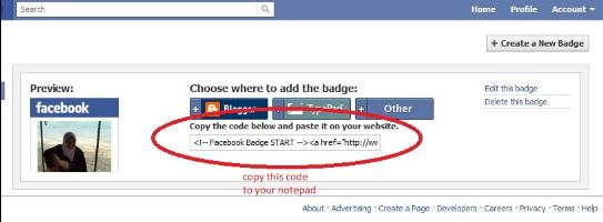 How do i get my facebook url