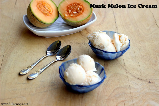 Musk Melon Ice Cream