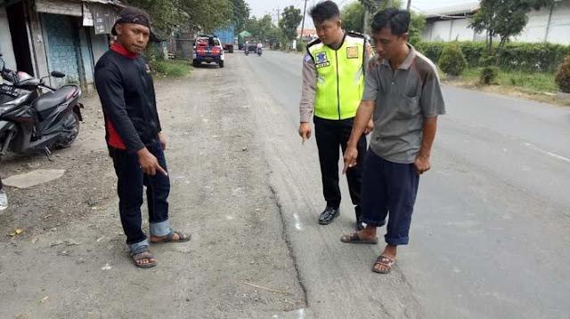 Innalillahi, SBY Meregang Nyawa saat Mengisi Angin Ban Truk