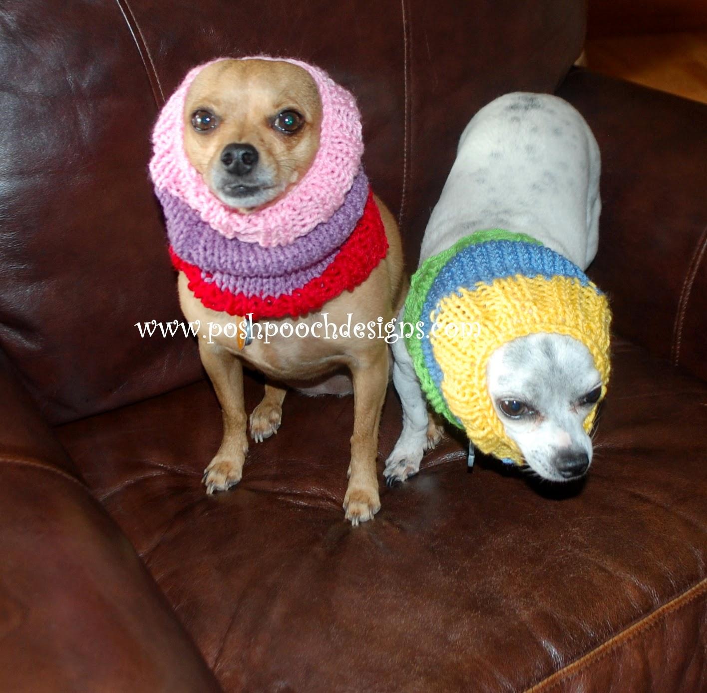 Posh Pooch Designs Dog Clothes: Colors Dog Snood Free ...
