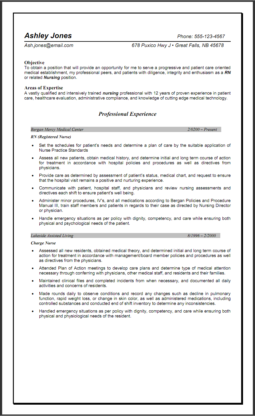 sle resume for nurses with experience sle resumes