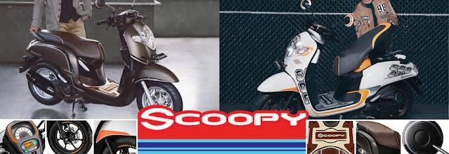 Daftar Harga Aksesoris All New Honda Scoopy