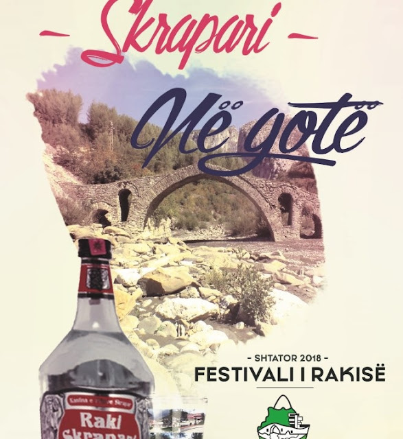 The Rakia Festival, the promotional activity of Skrapar tradition and products