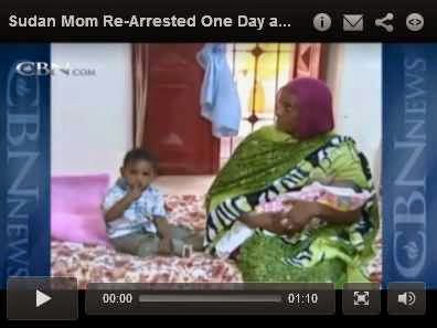 http://www.cbn.com/cbnnews/world/2014/June/Sudan-Mom-Re-Arrested-One-Day-after-Release/