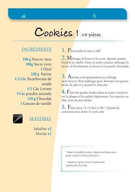 Une recette super simple à faire, pas besoin de beaucoup d'ustensiles. Tout mélanger, faire cuire, laisser refroidir et se faire plaisir