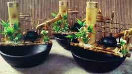 air- mancur -bambu