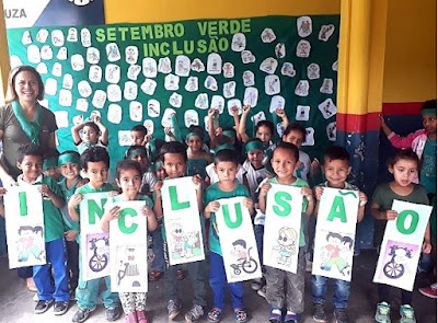 Escolas Municipais de Registro-SP aderem à Campanha 'Setembro Verde'