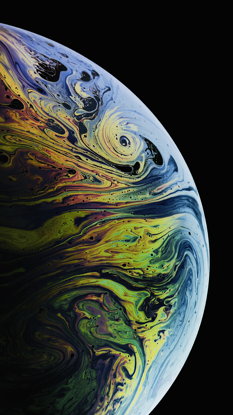 iPhone XS MAX Gradient Modd Wallpapers by AR72014 (2 variants)